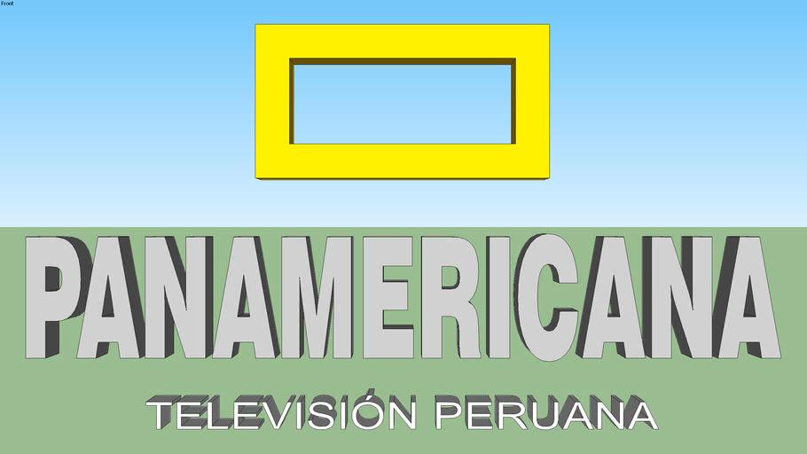 Panamericana TV logo (2004-2009)