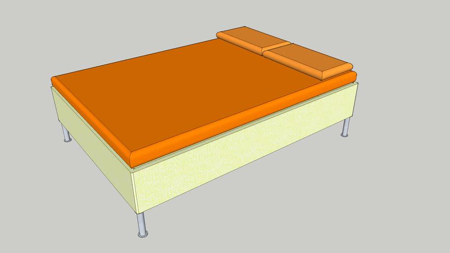 Ikea bed Sultan Alsarp 140cm