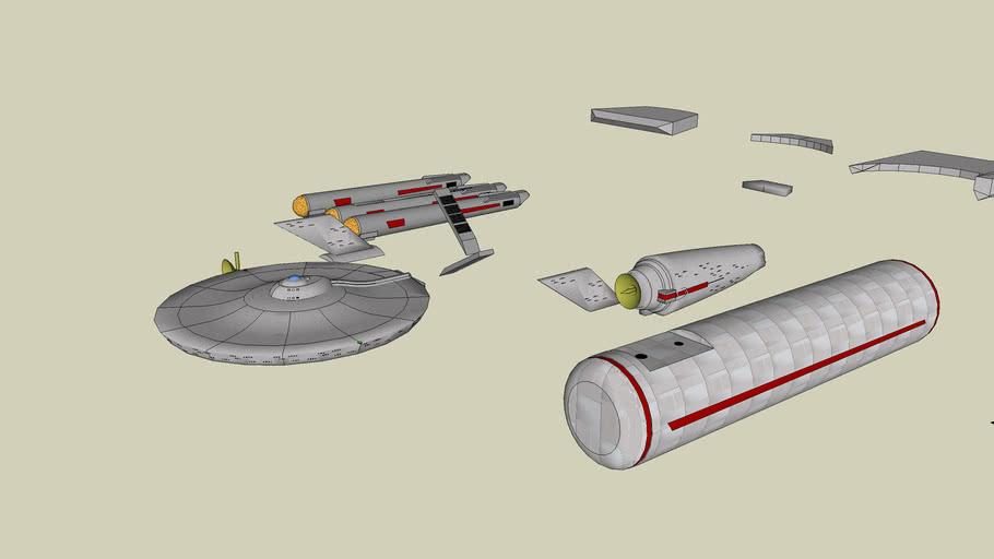 Star Trek TOS Ship Pieces
