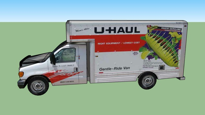 "U-Haul Truck ""do-it-yourself"""