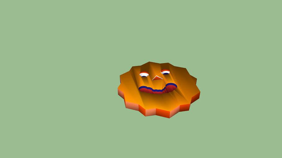 hallowe'en face