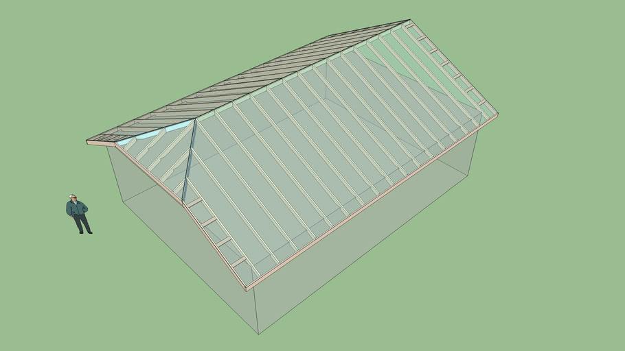 Half Hip Roof 1