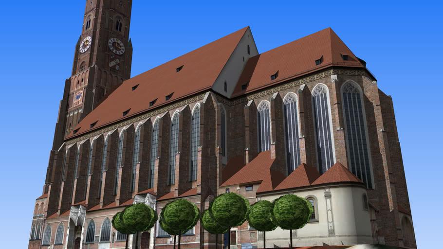St. Martinskirche Landshut in Bavaria