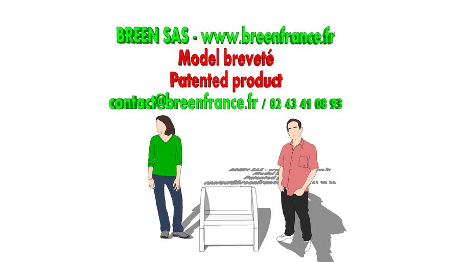 Fauteuilen carton - Propriété exclusive de BREEN SAS