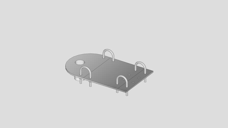 CO-SLM : Spring tow bar male steel zinc