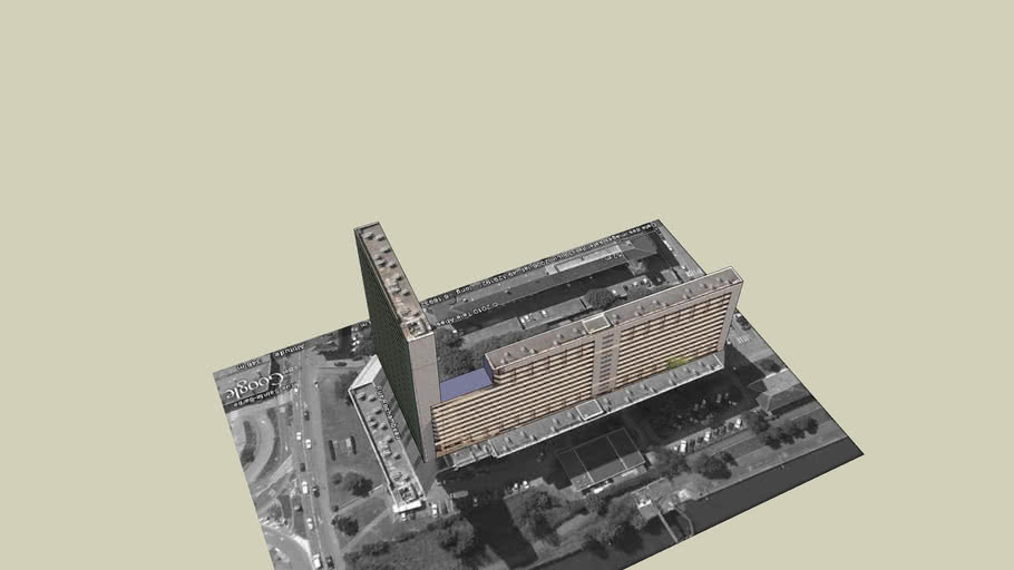 Building Sainte Barbe METZ