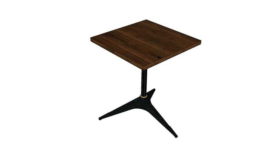 COMPASS BISTRO TABLE SQUARE SMALL VKO189-S-S