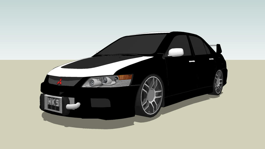 Mitsubishi Lancer Evo IX. Komvet Racing Style