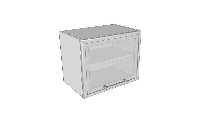 Jednokrilni stakleni horiz. element - 45 cm - visina 36 cm