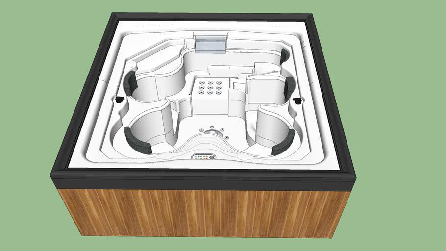 Bồn sauna vuông