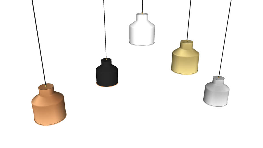 Cell Naked Pendant Large - Contemporary Ceiling Light by Liqui