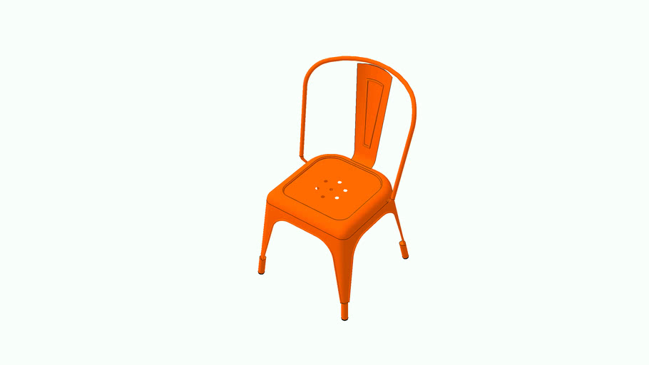 sillas metalicas