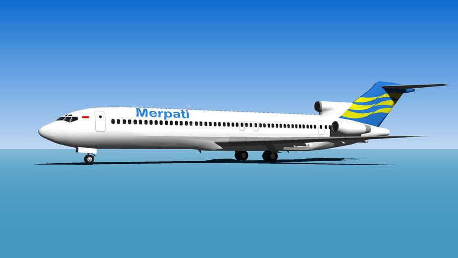 Merpati Boeing-727-200