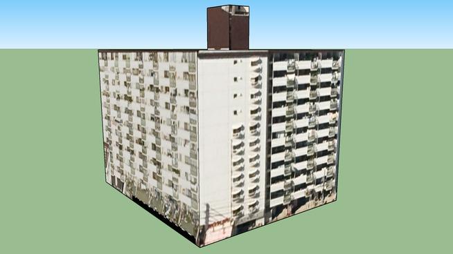 Edificio in Hiroshima, Prefettura di Hiroshima, Giappone