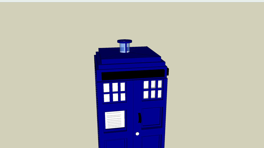 The Tardis (time and relative dimension in space)