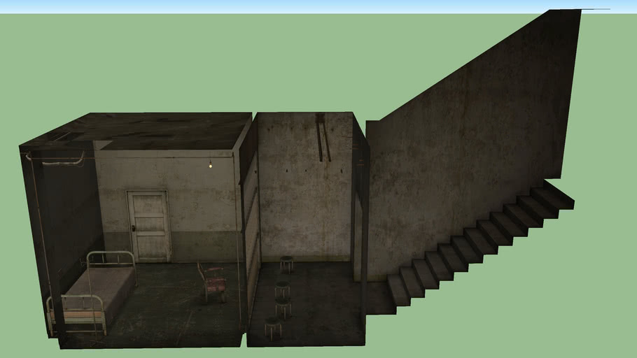 Silent Hill 2 Maria Prison 3d Warehouse