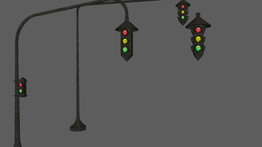 Semáforos |Traffic Lights | Victorian style