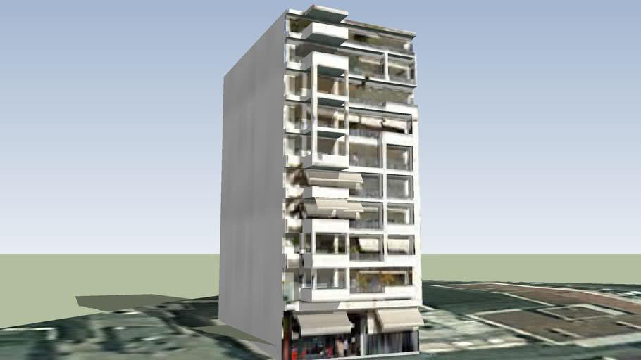 Building in Thessaloniki, Greece