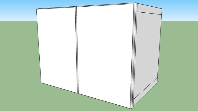 "Glenwood Wall Cabinet 24W3627 - 24"" Deep, Two Doors"