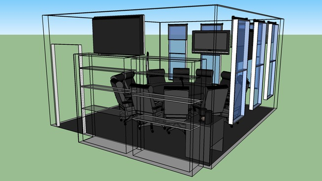 Executive Video Conference Room