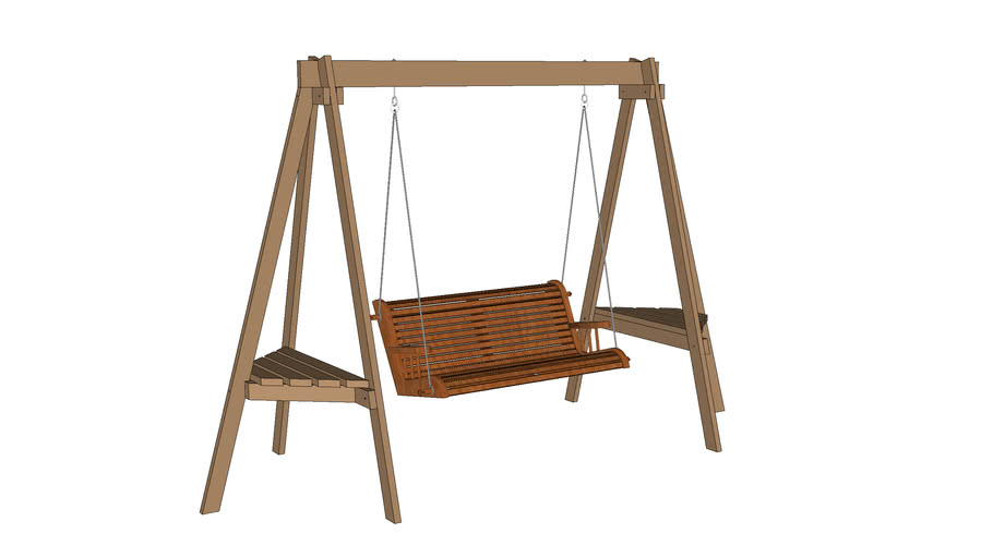 Porch Swing And Stand 3d Warehouse