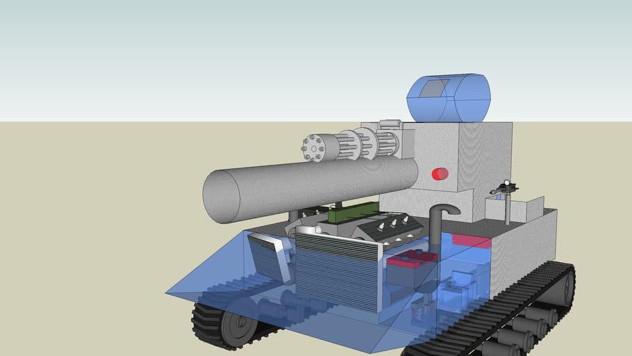a metal tank (seiriously upgraded)