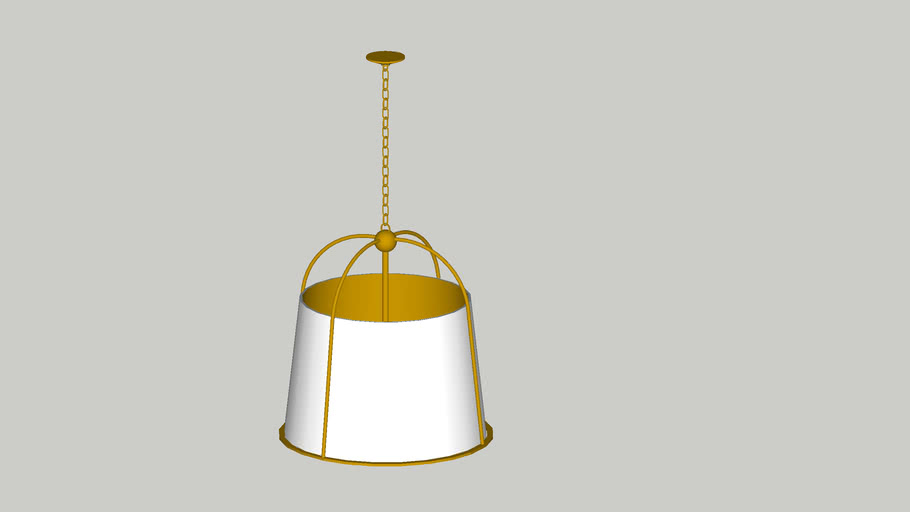 Adelaide Caged Pendant fixture