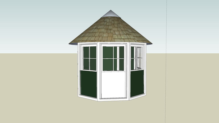 Garden Shed - Shelter - Tuinhuisje