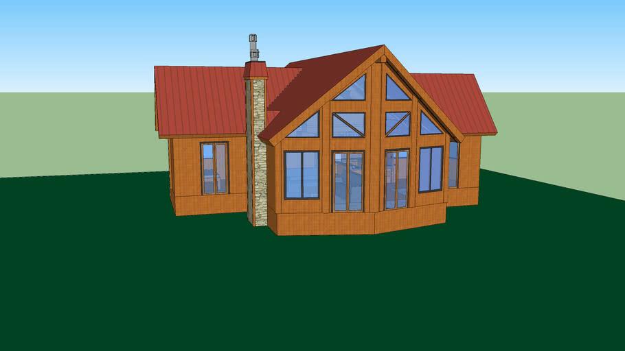 Timber Block Dakota Log Home