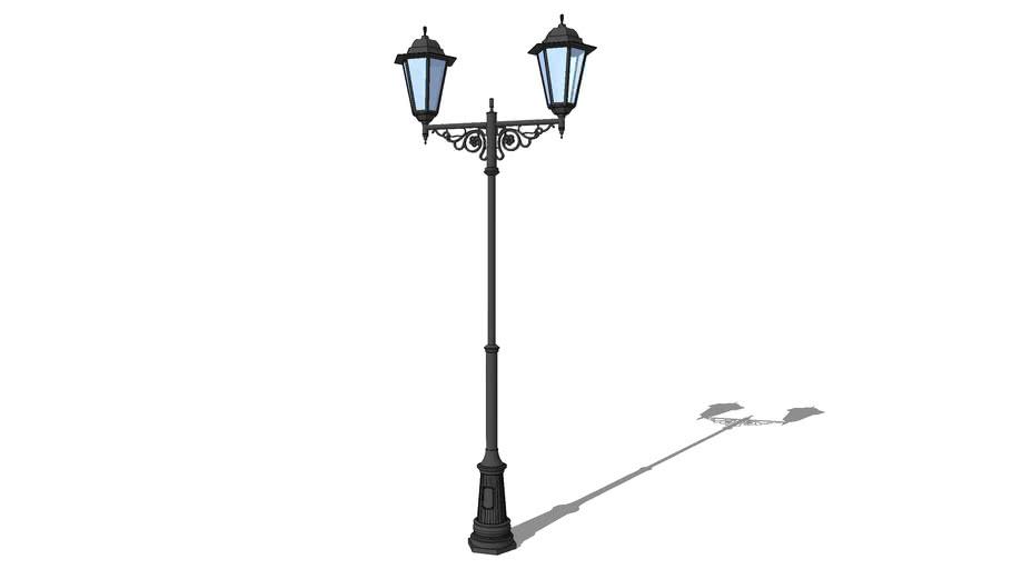 "Фонарь уличный ""Пушкин"" 2 лампы / Streetlights ""Pushkin"" 2 lights"