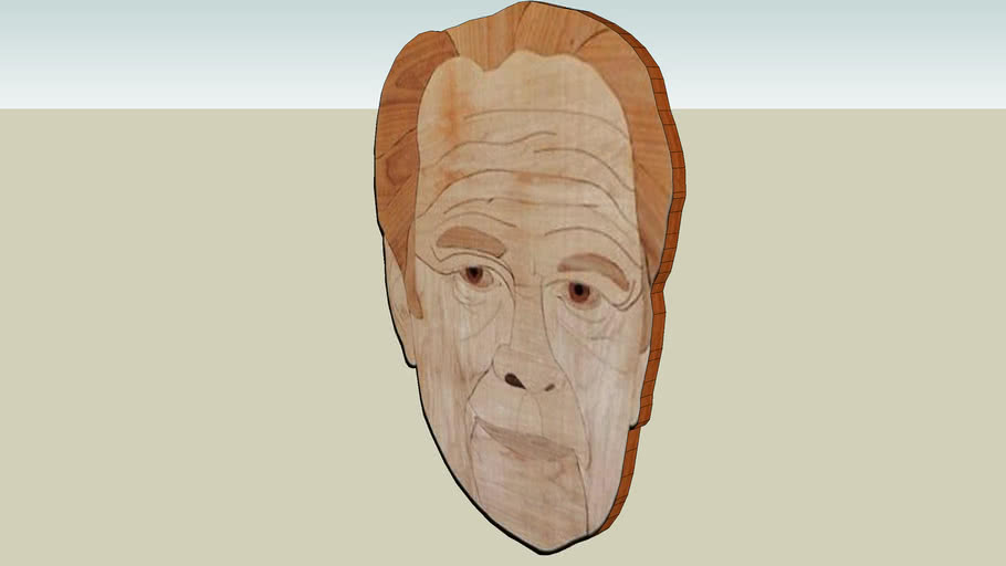 President Ford in Wood by Don Collins