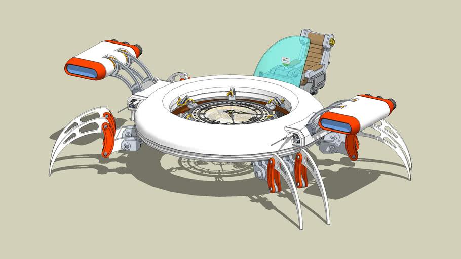 Time Machine - 3D Challenge 008