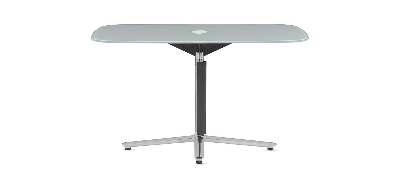 Bevy Pedestal Work Tables