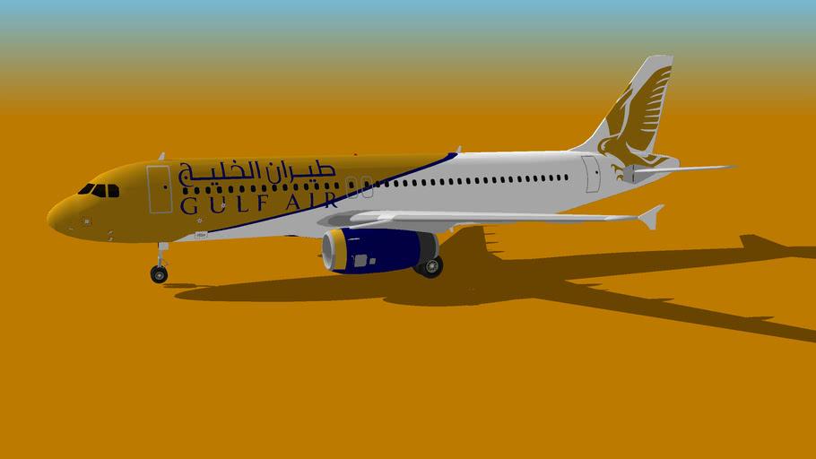 Gulf Air Airbus A320-232