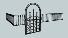 Gate, Fences, doors