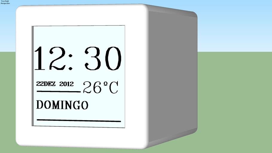 Despertador Relógio Digital de Cabeceira (Muda Cor LED)