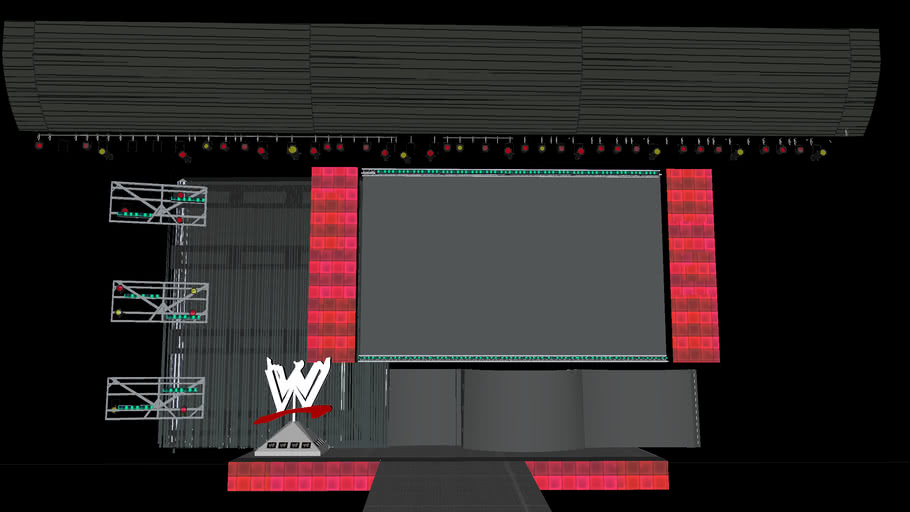 wwe hd model finished as of 6/15/11