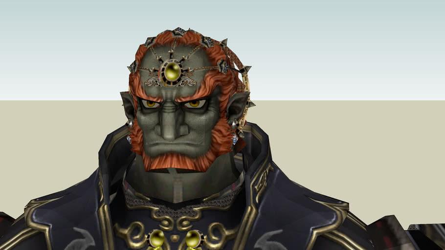 Tloz Tp Ganondorf Super Smash Bros Brawl Style 3d Warehouse