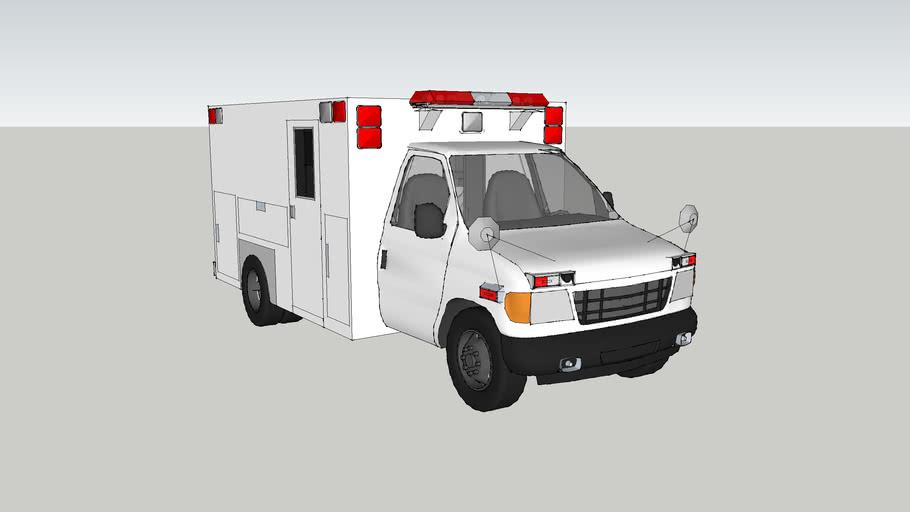 ambulancetype lll ford f350 econoline model 1995