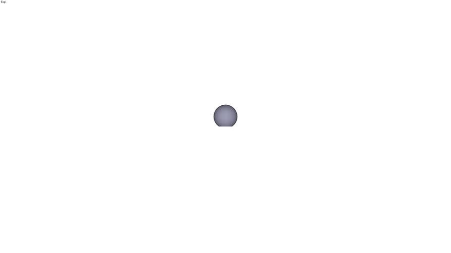 Ball knob form C - M8 ext. Ø 25 mm