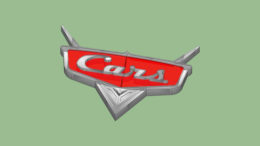 Disney Pixar Cars Logo Hood Ornament
