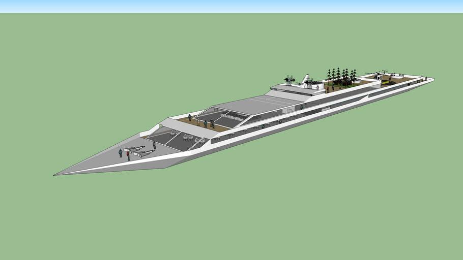 mega yacht