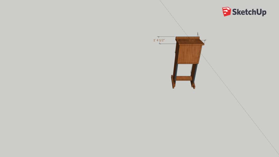 shtender / podium