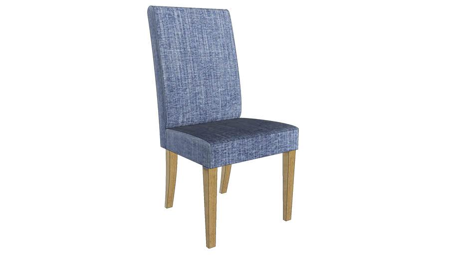 81811 Padded Chair Econo Slim Salty Blue