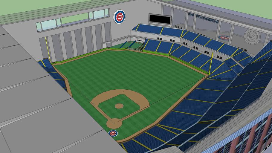 Cubs Ballpark in Wrigleyville