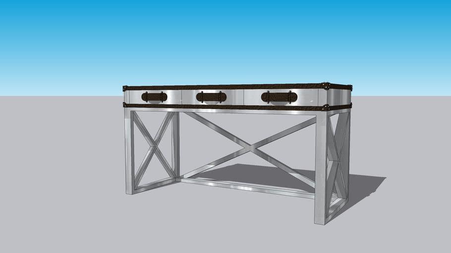 Andrew Martin three-drawer desk