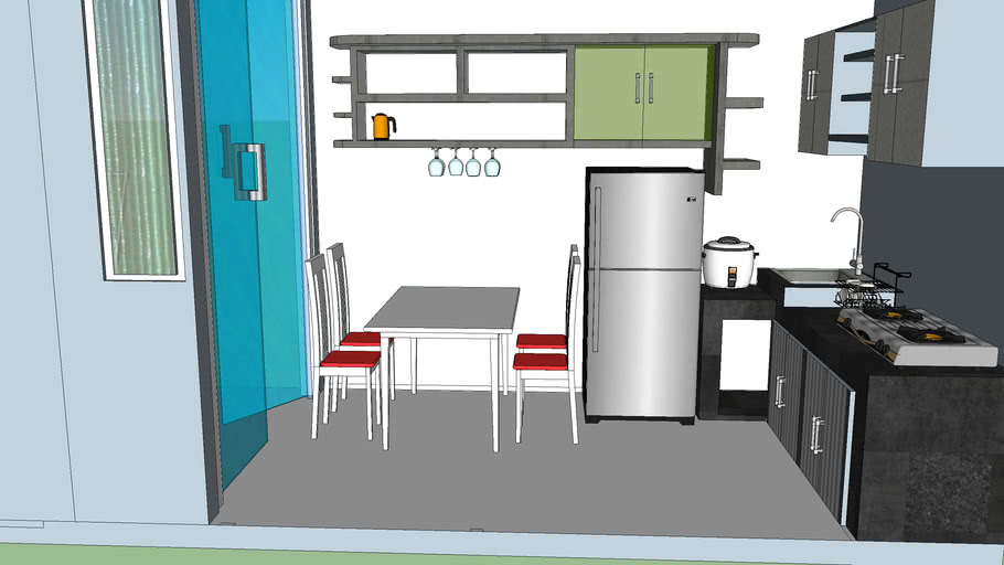 dapur 3x2