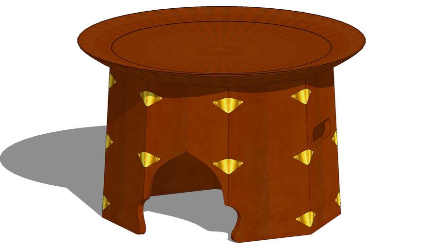 밥상 원형 공고상 公故床 번상 番床 풍혈상 風穴床 조선시대 Korean Heritage Joseon Era dining table on head carrying 3D Artworks