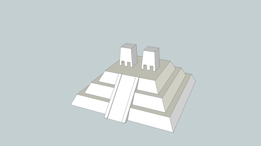 Aztec Temple Model