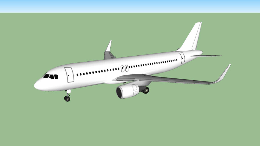 Template - Airbus A320-200 (v.5) w/Sharklets
